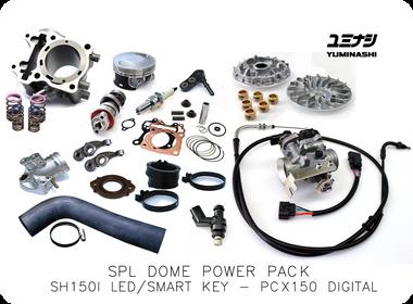 YUMINASHI 164CC DOME SPL KIT (SH150i LED / PCX150 DIGITAL (2018- )) (12103-K02X-600SPL)