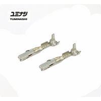 YUMINASHI FEMALE TERMINAL FOR 2-PIN INJECTOR AND 5-PIN THROTTLE BODY CONNECTOR (04022-000-002A)