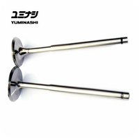 YUMINASHI STAINLESS STEEL VALVES (29/23MM - 5MM STEM) FOR PCX150 / SH150i / CLICK150 / VARIO150