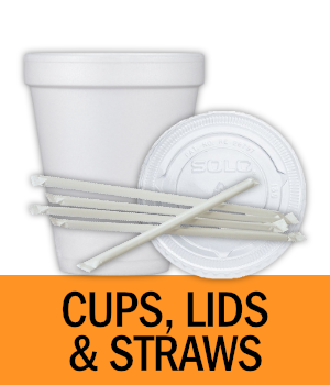 Shop Cups, Lids and Straws