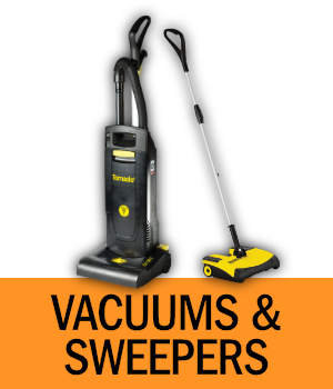 Shop Vacuums and Sweepers