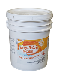 AcryliWax Plus Commercial Floor Finish, 5 Gallon