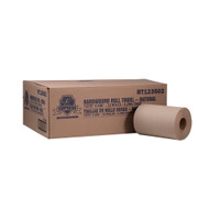 "Empress  RT 123502 Hardwound Roll Towels, 8"" x 350', Brown - Case of 12"