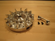6621-P Predator Hemi  Flywheel (Use with PVL Ignition)