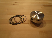 **NEW** 3 Ring Wisco Piston W/Rings and Clips No Pin 2.756 (Std Bore Predator)(Use with 3.595 x .490 ARC Long Rod)(Drop In)
