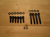 Bolt Kit, ARP 12-Point Head, Chrome-moly Steel, Black Oxide For Clone/Honda/Predator