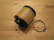 """R2C Air Filter 4.25"""" x 4"""" (2-7/16"""" I.D.) STRAIGHT FLANGE (NEW & IMPROVED ELEMENT)"""