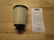"""R2C - CY11101 Briggs Animal Filter Tapered 3"""" to 4.25"""" x 5"""" Long (1.25"""" I.D.) 20* FLANGE"""