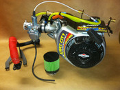 WKA / IKF Blueprinted World Formula Engine With Electric Start and Titan Clutch