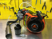 Race Prepped Briggs Animal 206 (KID KART) Engine With Max Torque Clutch