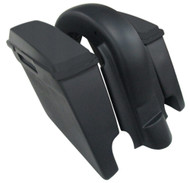 "'97 to '08  6"" Extended Saddlebags/Lids & Fender Harley Davidson WITH Cutouts 109"