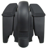 """4"""" Extended Saddlebags and Fender With Lids Harley Davidson 1997 to 2008 110"""