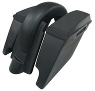 "'97 to '08  6"" Extended Saddlebags/Lids & Fender Harley Davidson WITHOU Cutouts 119"
