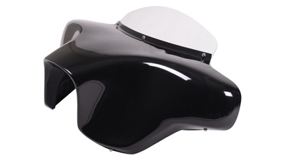 Harley Softail Slim Batwing Motorcycle Fairing  left view