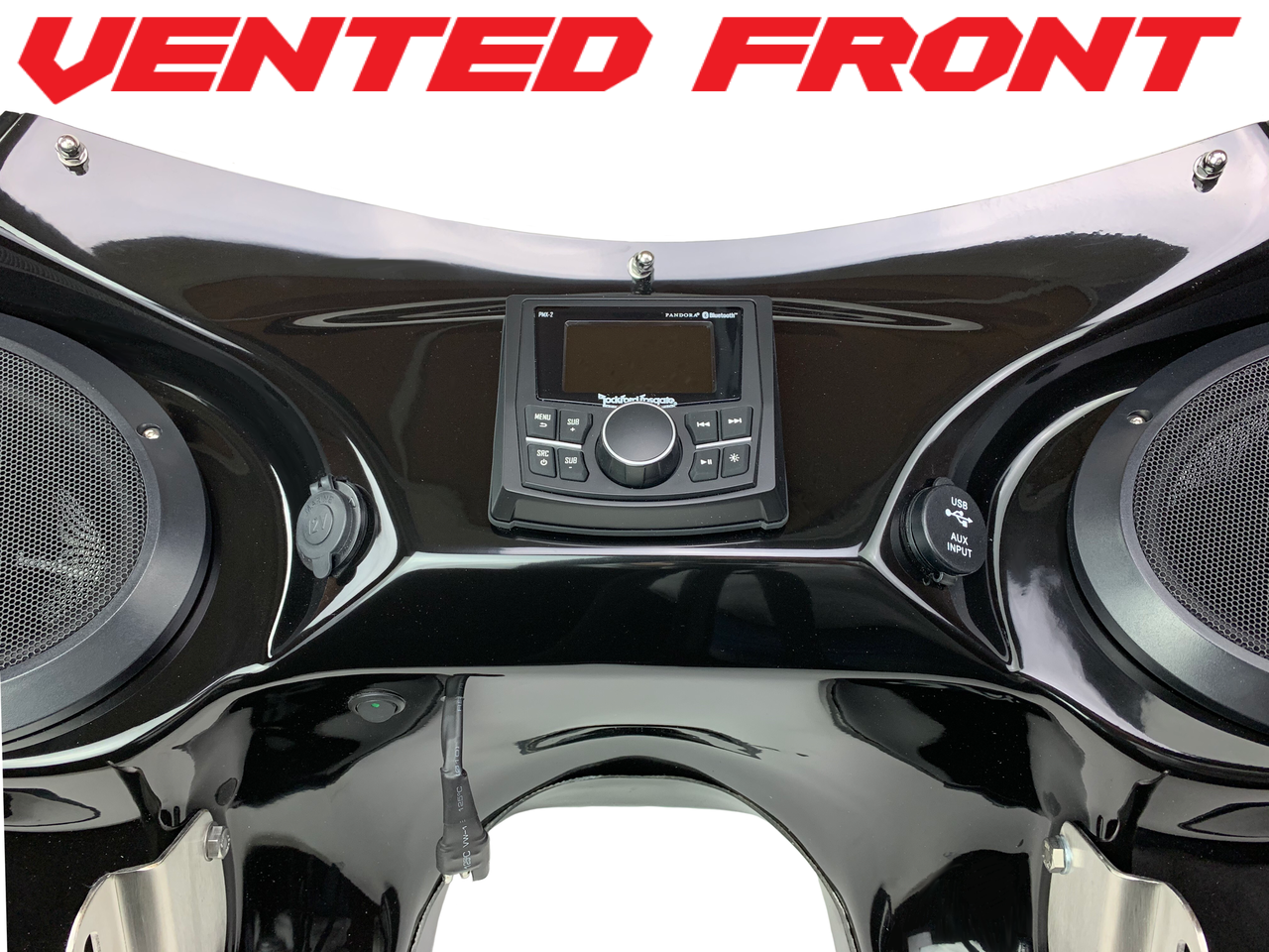 Vector Batwing Fairing 18 to Present Harley Heritage /& Softail Batwing Fairing 2-6x9 Speakers