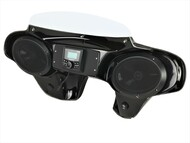 Yamaha V Star 650/1100 Classic Batwing Fairing with Fork Clamps Speakers and Stereo System 195-0000