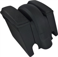 "'09 to '13 - 6"" Extended Saddlebags / Lids & Fender – Both WITH Cutouts 205"