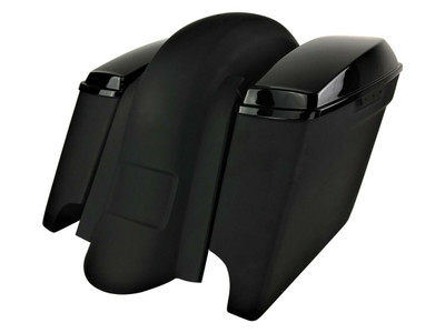 2014+ Extended Saddlebags / Lids & Fender – WITHOUT Fender Cutouts