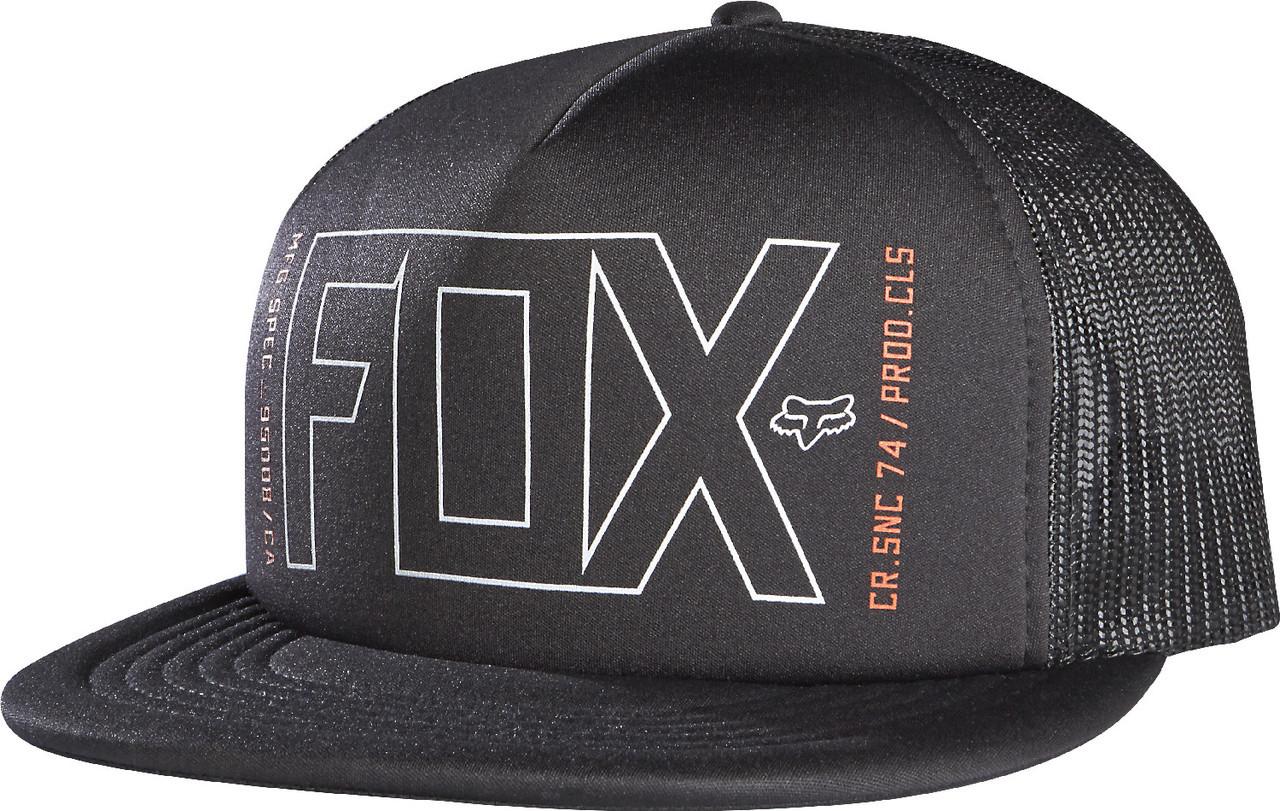 e01946265 Mens OS - Black - Fox Racing Sedate Snapback Hat
