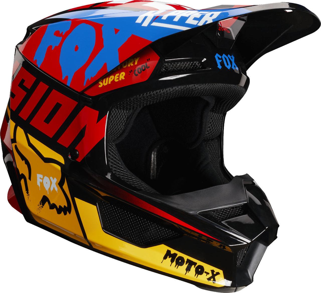 2019 Fox Racing 180 Czar Jersey-Black//Yellow-2XL