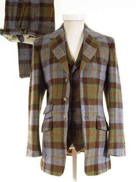3 Piece Harris Tweed Suit