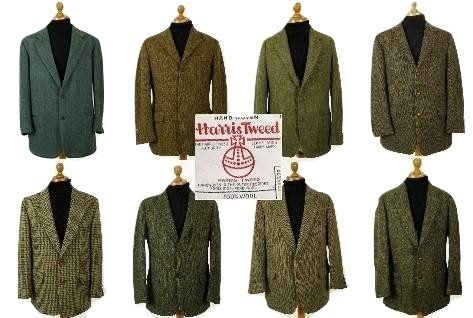 Green Harris Tweed Jacket