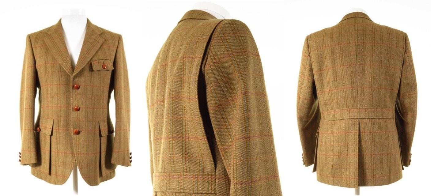 Half Norfolk Tweed Jacket