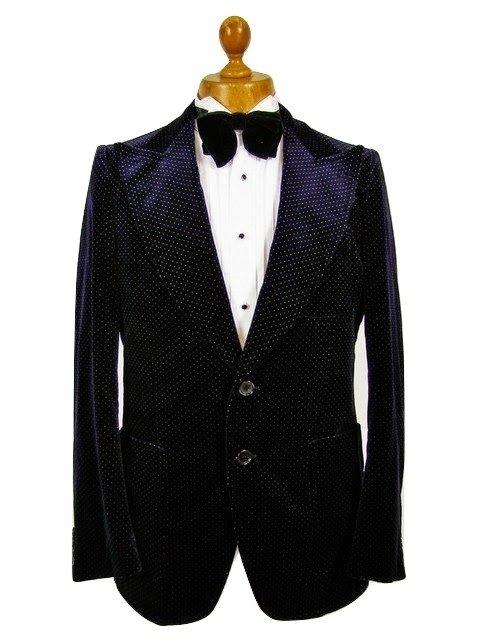 Mens Vintage Velvet Jacket