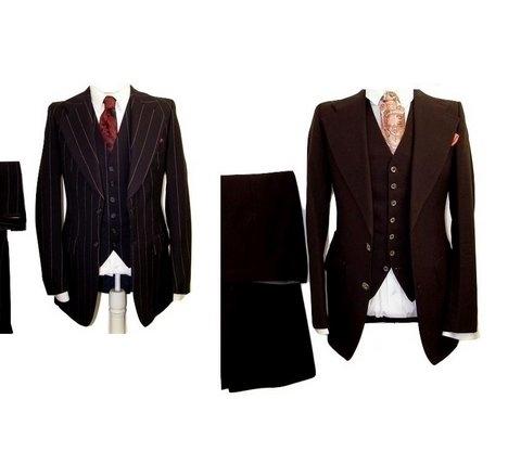 3 piece vintage suits