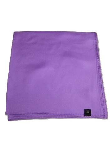 Mens purple silk handkerchief