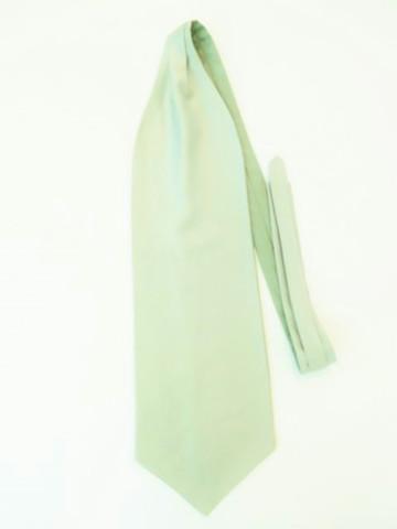 Sage green wedding cravat