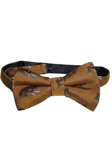 Hunting theme bow tie