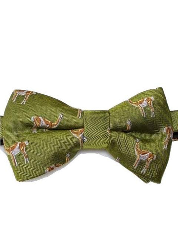 Alpaca themed bow tie
