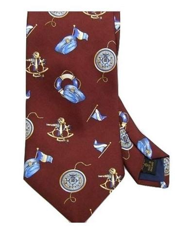 Nautical themed tie