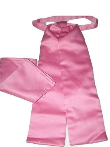 Bubblegum pink wedding cravat