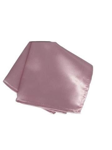 Dusky pink pocket square