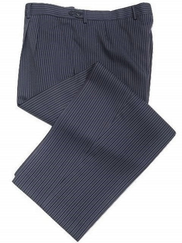 Blue striped morning trousers