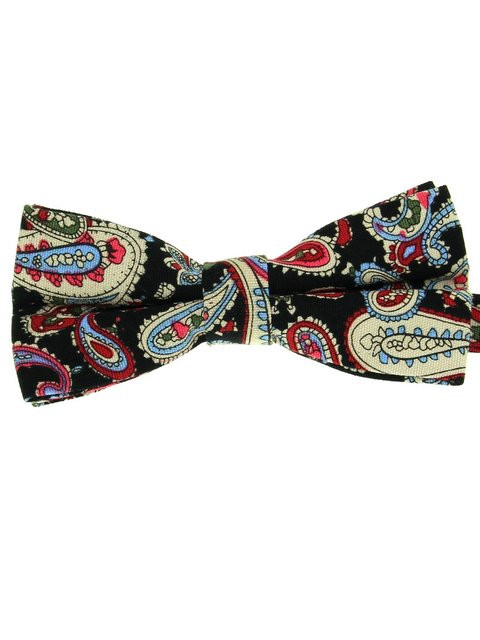 d56db5b2c6a7 Retro Paisley Bow Tie NEW - Tweedmans