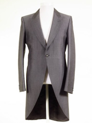 Silver grey tailcoat