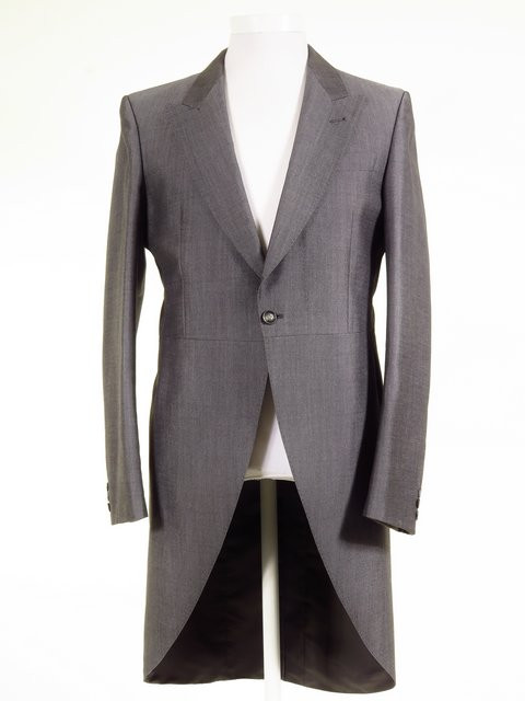 Buy Silver Grey Tailcoat - Ex-Hire Wedding Morning Suit Jacket - All ... 7ef9f1b7185