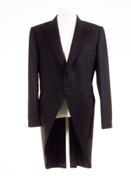 Navy blue tailcoat