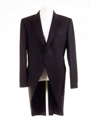 Navy blue tailcoat