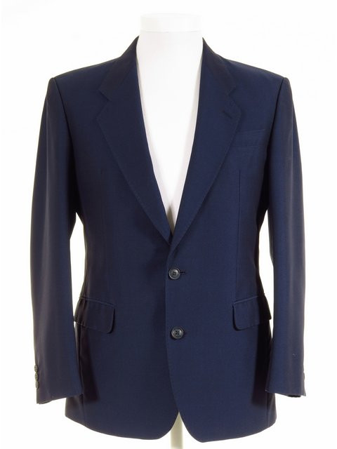 Ex Hire Blue Mohair Tonic Suit Jacket Mens Wedding Jackets Coats