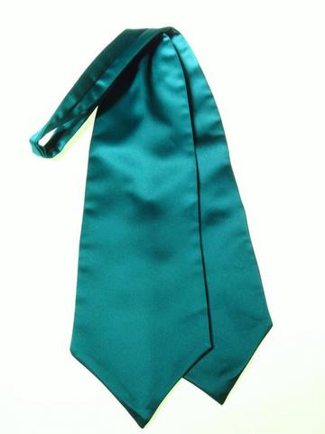 Green wedding cravat