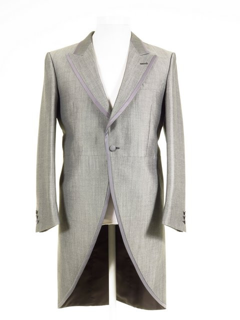 ... Wedding Suit Jacket Mohair Tonic Ex-Hire ALL SIZES. £59.00. Silver grey  tailcoat 559c8856417