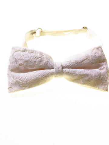 Lace bow tie