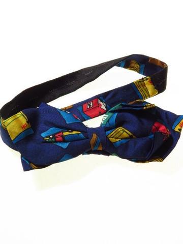 Novelty silk bow tie