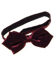 Wine bow tie pointed ends