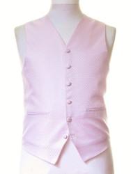 Pink sparkle wedding waistcoat