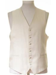 Ivory gold wedding waistcoat